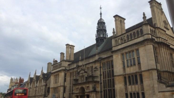 ロンドンから1時間、オックスフォードの見どころ