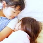 私と子供2人がダブルベットで寝る方法
