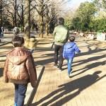 光が丘公園の遊具は幼児さんから小学生まで楽しめます!