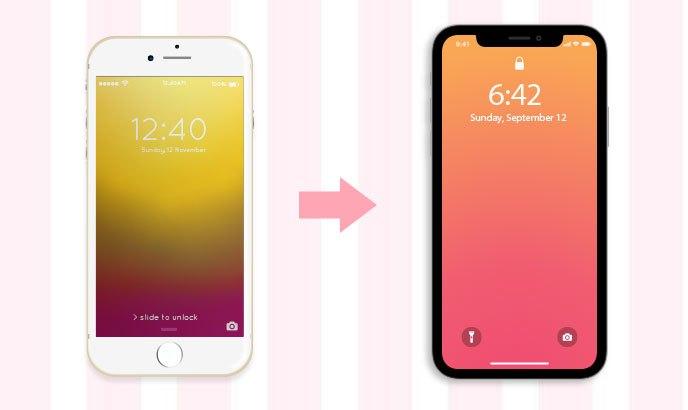 iPhoneからiPhoneへの移行手順(iTunesを使用)