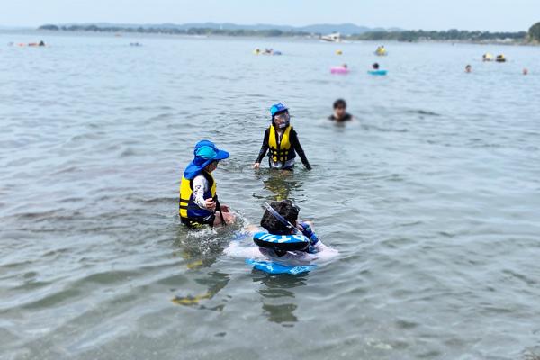海や川遊びにはライフジャケット(スノーケリングベスト)を用意しよう