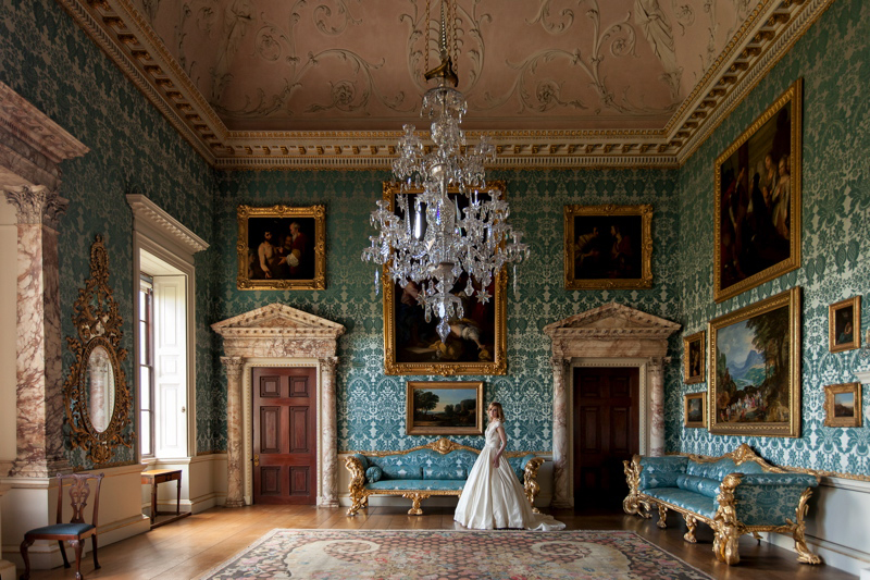 Coco Welcomes Kedleston Hall Derbyshire  UK Wedding