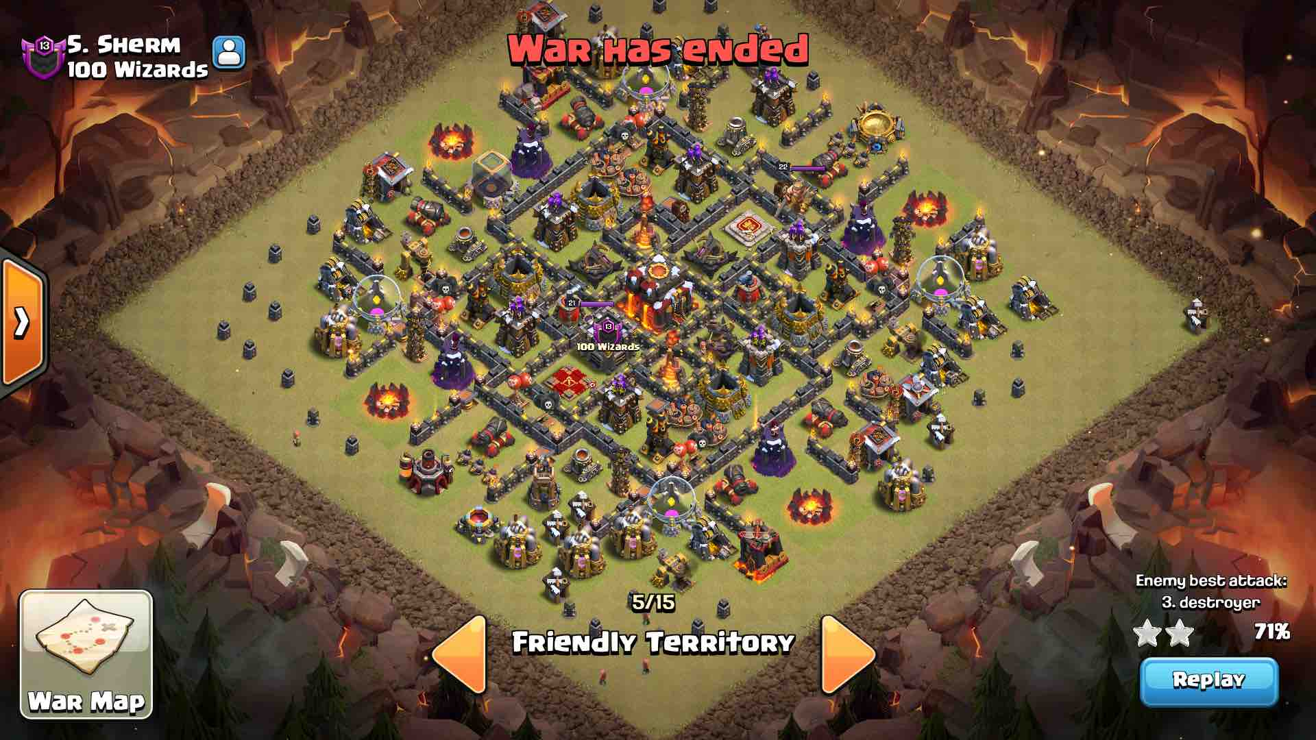 The 15 Best Th10 War Bases With Real Results Coc Stars