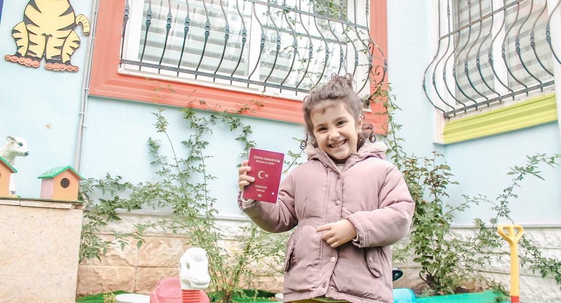 çocuklara pasaport