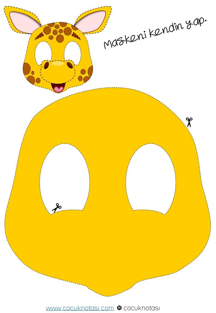 Zürafa Maskesi