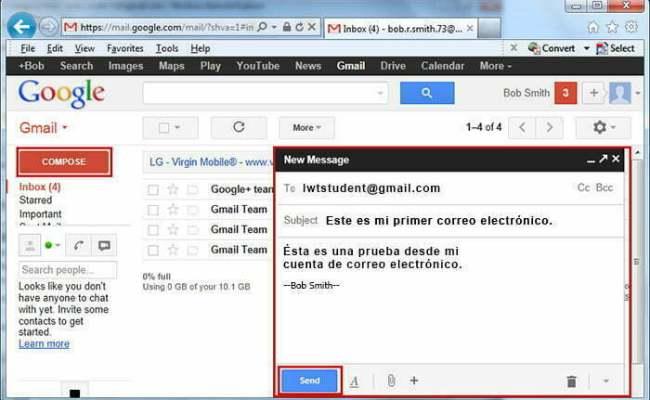 Como Enviar Correo Gmail Cocupo