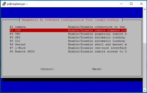 Activer SSH Raspberry