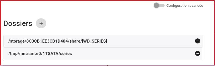 EMBY Samba add HDD