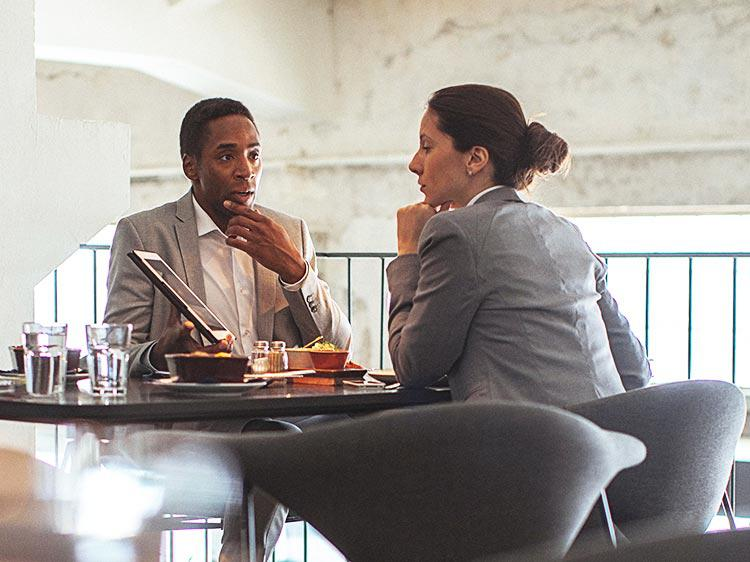 How To Nail The Most Awkward Kind Of Interview The Lunch