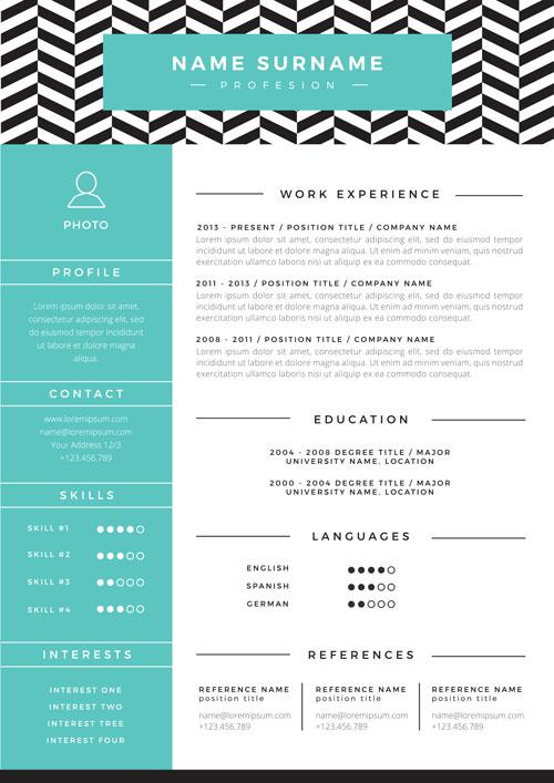 advanced resume formats samples