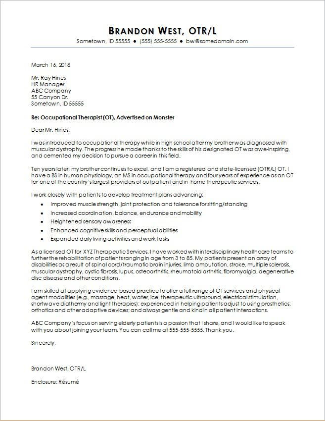 letter recommendation examples social worker program