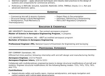 Aeronautical Engineer Cover Letter Sarahepps Aerospace Resume Cachxoahinhxam Org