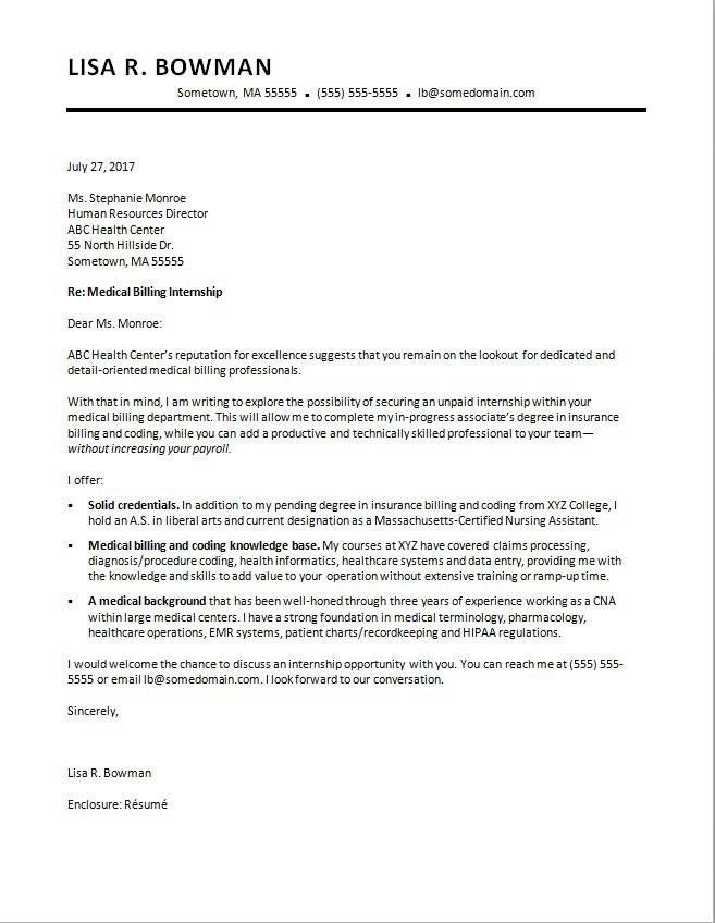 sample cover letter for unemployed job seeker