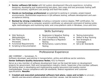 Manual Qa Tester Cover Letter | Sample Quality Assurance Cover ...