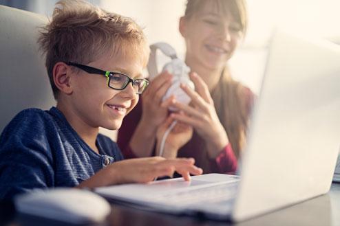 Teaching kids coding