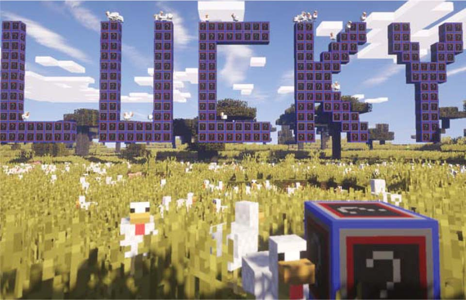 In this Minecraft kids coding course, students will learn how to make their own Lucky Block mod using Java programming.