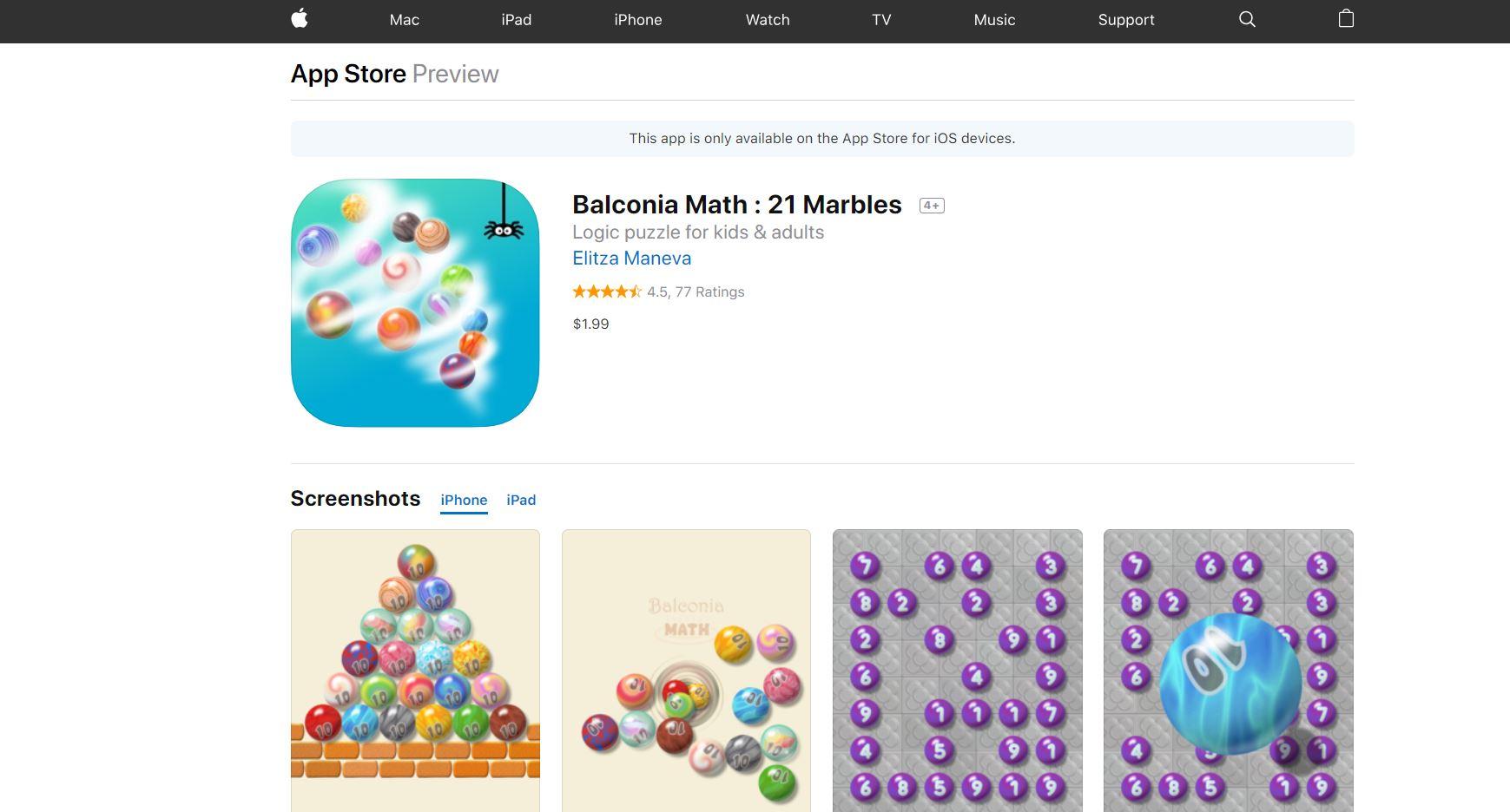 Balconia Math CodaKid Top 21 Math Apps of 2019