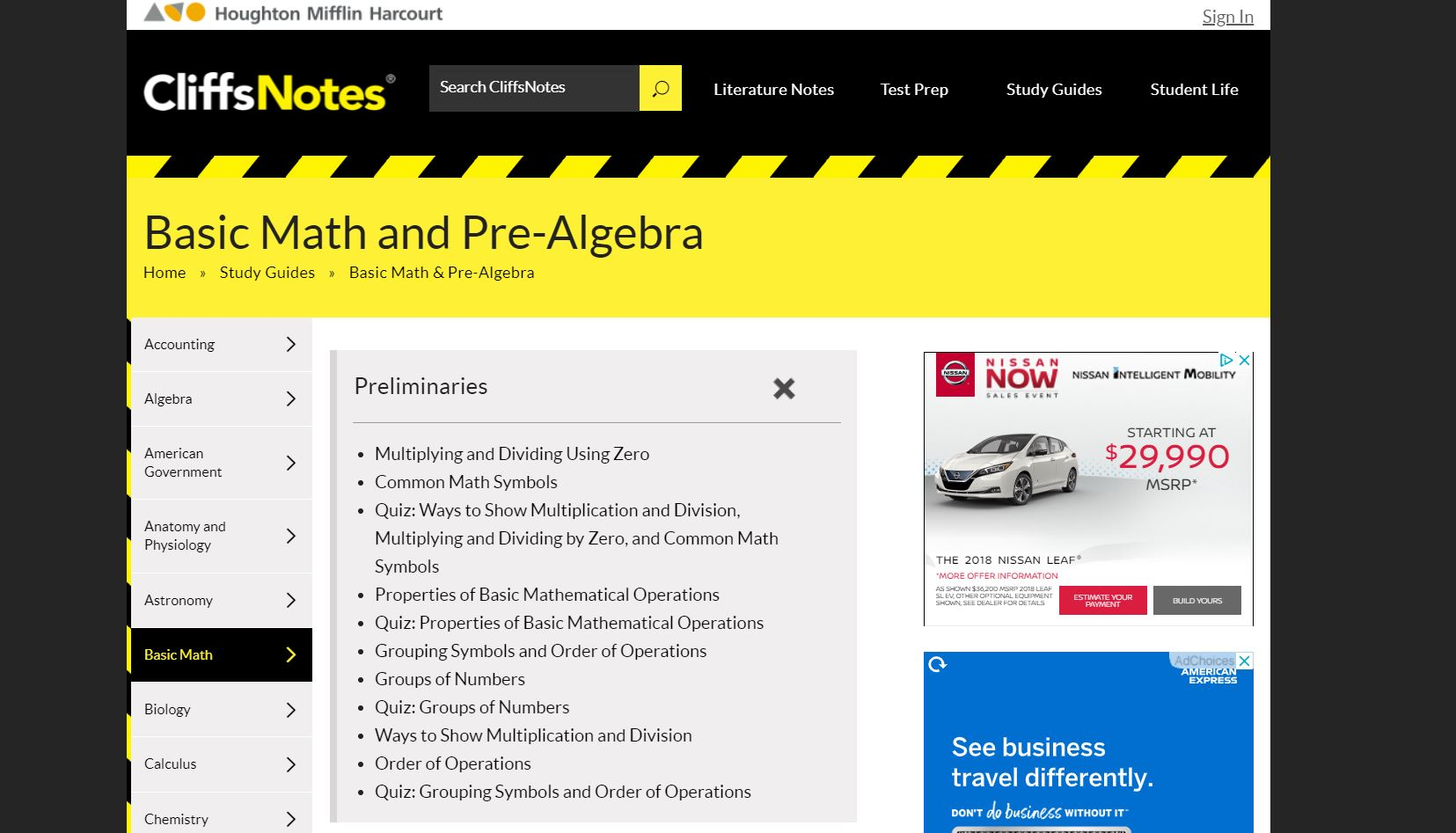Cliffs Notes Top 10 Free Math Websites of All Time CodaKid