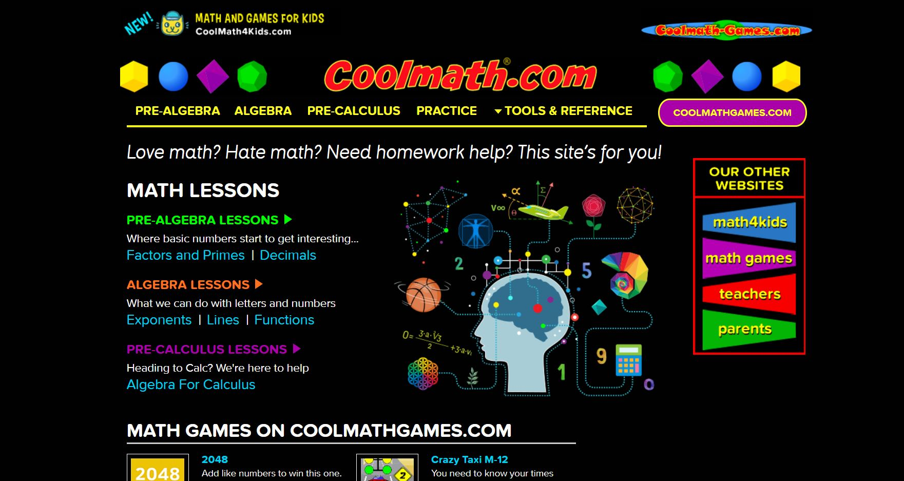 Cool Math Top 10 Free Math Websites of All Time CodaKid