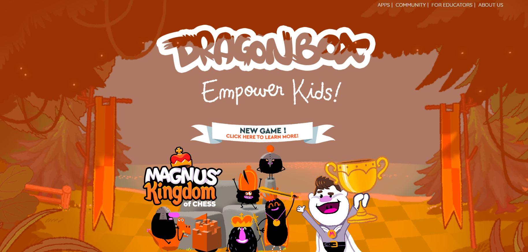 Dragon Box CodaKid Top Math Games