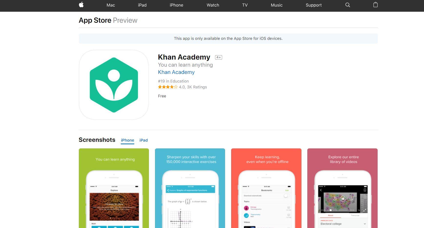 Khan Academy App Codakid Top 21 Math Apps of 2019