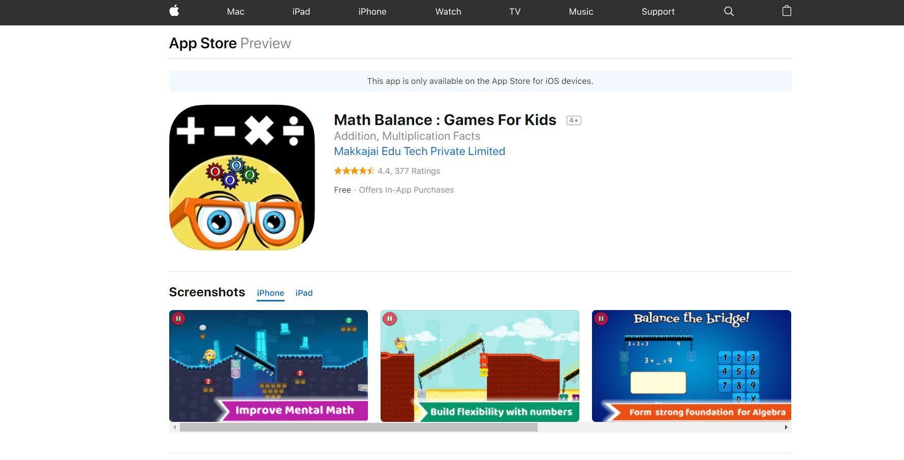 Math Balance CodaKid Top 21 Math Apps of 2019