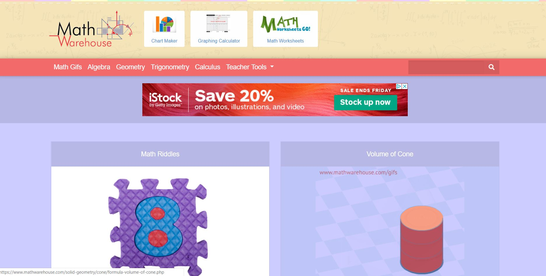 Math Warehouse Top 10 Free Math Websites of All Time CodaKid