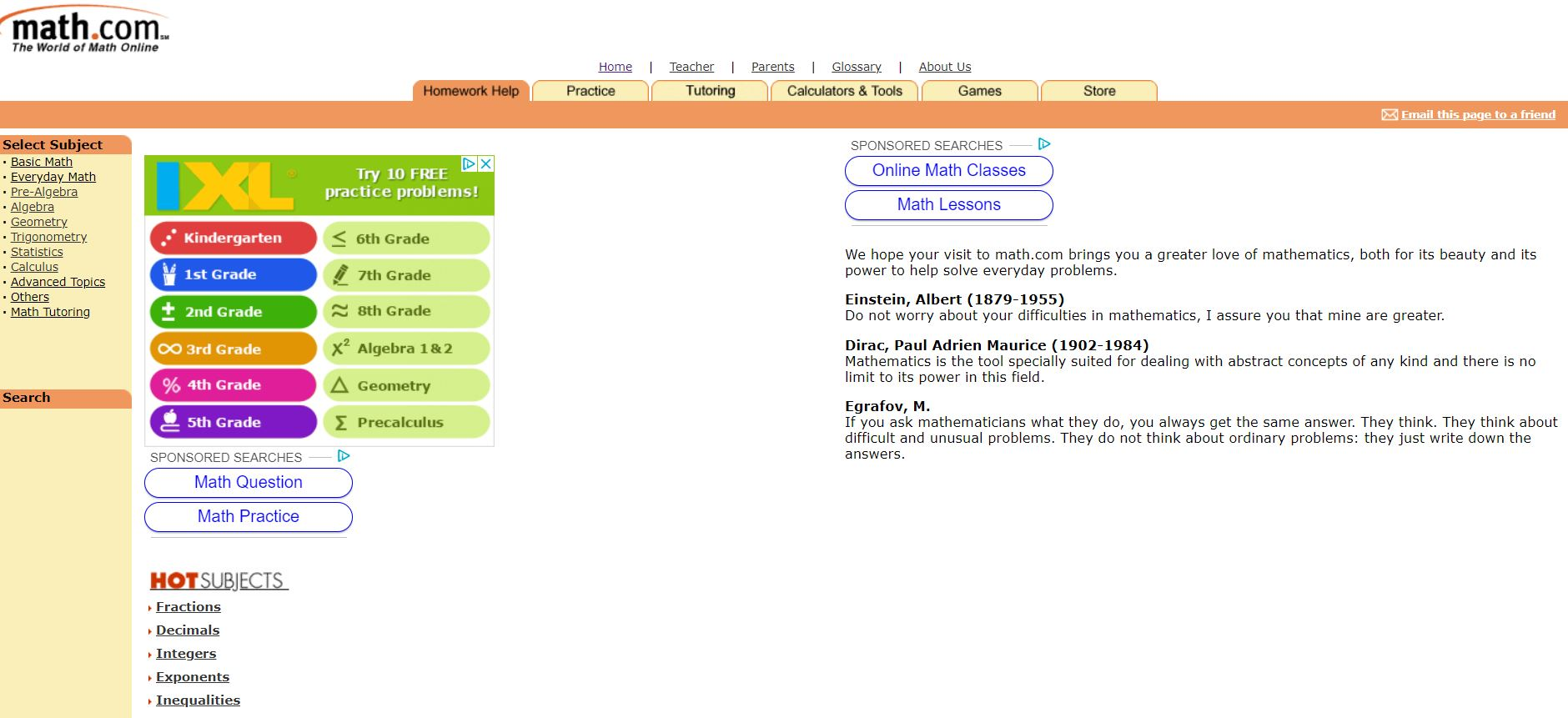 Math.com Top 10 Free Math Websites of All Time CodaKid
