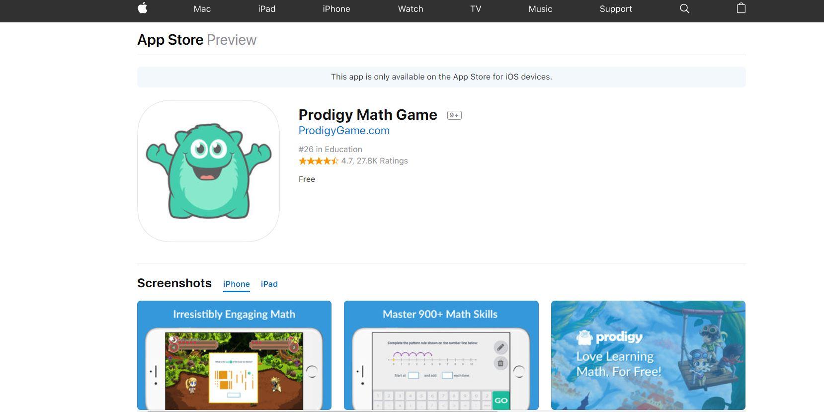 Prodigy CodaKid Top 21 Math Apps of 2019