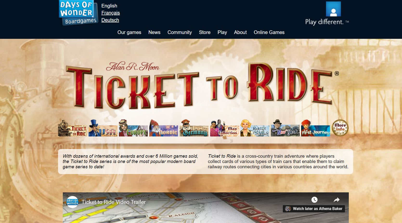 Ticket To Ride CodaKid Top Math Games