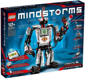 LEGO Mindstorms is a robot kit to teach coding for kids