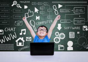 Child enjoying coding kits for kids guide