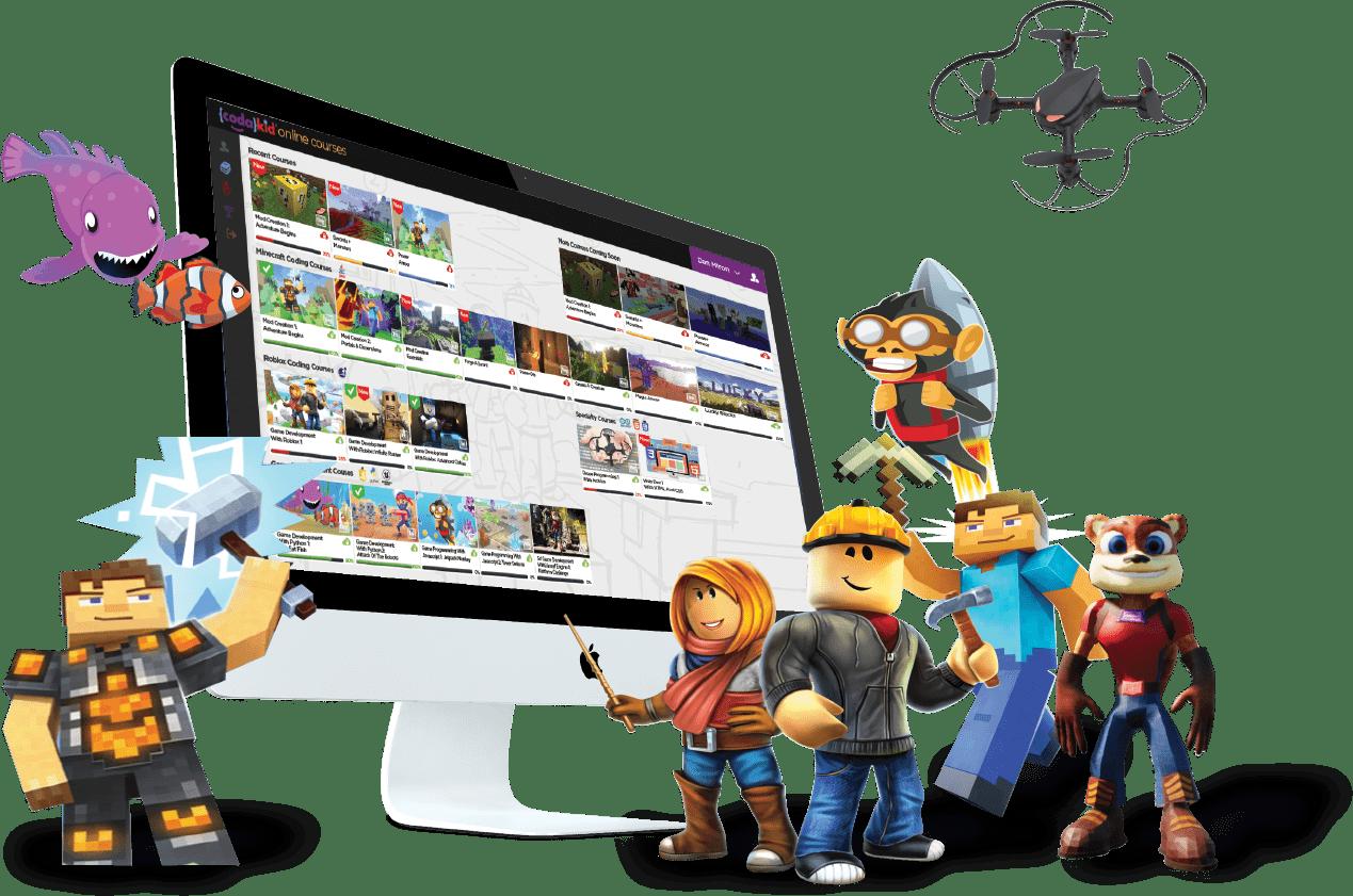 CodaKid Best Online Educational Game for Kids