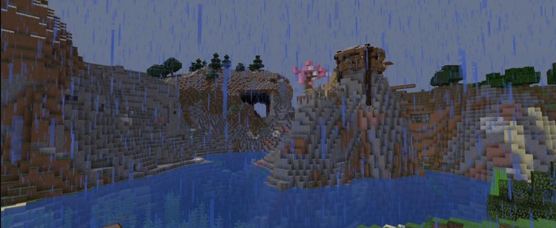 Minecraft Rainy