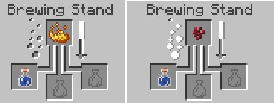 Brewing Stand Minecraft Recipes
