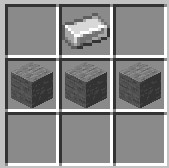 stonecutter Minecraft recipe