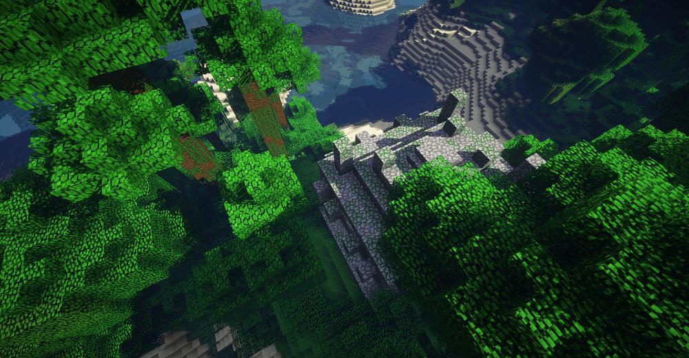 minecraft jungle temple diamonds