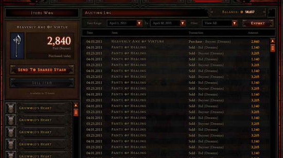 diablo3 auction house faq