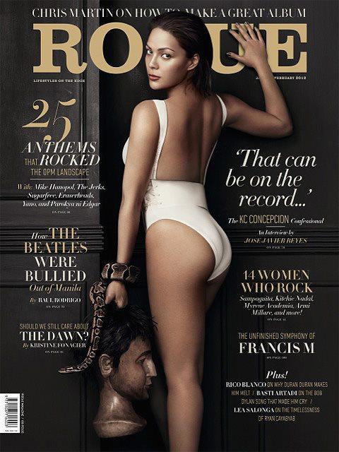 KC Concepcion Rogue Magazine