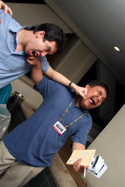 Kiven and Mike Abundo circa 2007