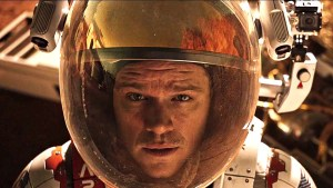 Matt Damon in The Martian Movie