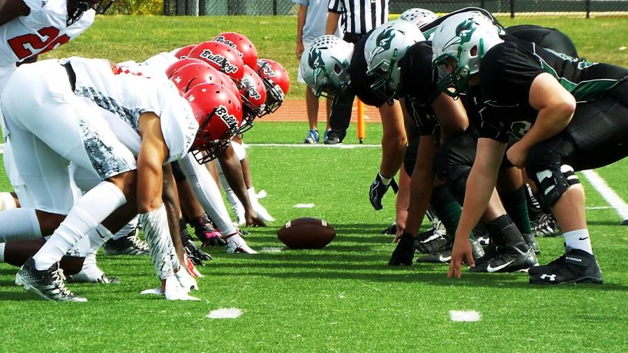 The Georgia Military Bulldogs face off against the College of DuPage Chaparrals on Sept. 28, 2014 at COD's McDougall Field.