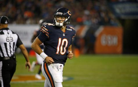 Trubisky Plagued by Offensive Inconsistency in First Start