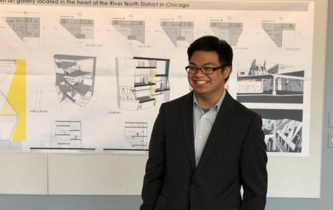 Architecture student creates a model for an 'open-space' in Chicago