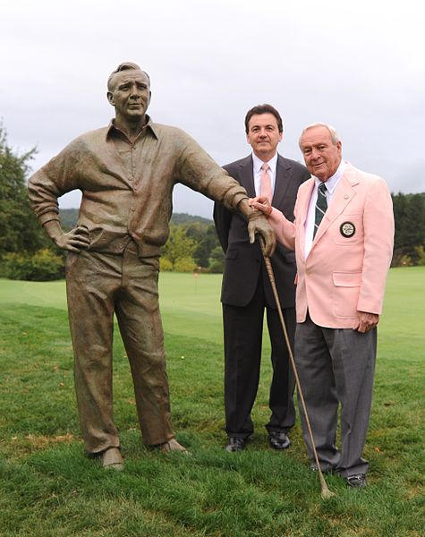 Arnold Palmer's (pictured right) death at age 87, represented for many, the end of a golden era