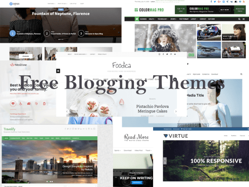 Top 10 Free Blogging WordPress Themes