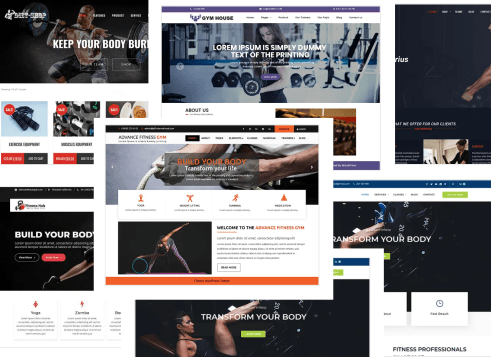 Top 10 Best WordPress Fitness Theme