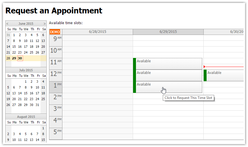 Appointment Calendar Angularjs | Personalized Calendars