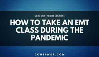 Taking EMT during the pandemic