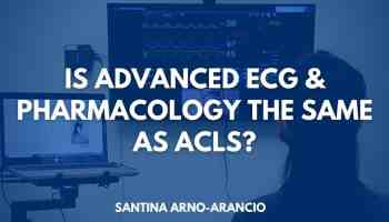 Is advanced ECG & Pharmacology the same as ACLS
